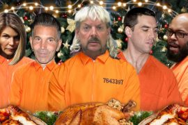 Celebrity Prison Christmas Meals revealed for 2020