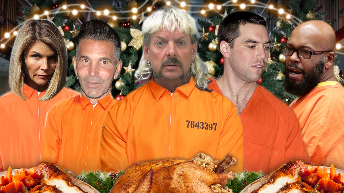 Celebrity Prison Christmas Meals revealed for 2020