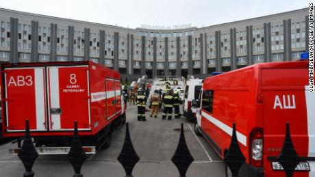 Reports of firefighting respirators in the intensive care unit of St.George's Hospital in Saint Petersburg in May added to doubts about how the Kremlin would handle the epidemic.