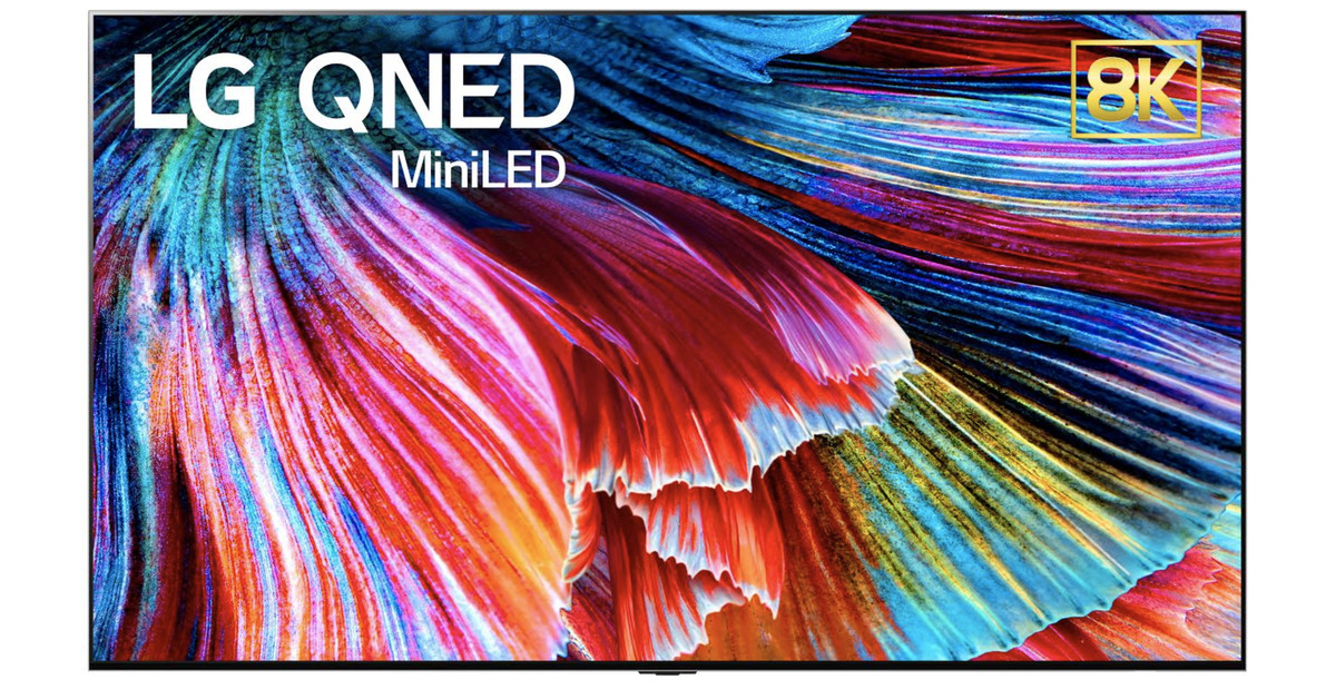 "LG's new ""QNED"" TVs will have approximately 30,000 small LED lights behind the screen"