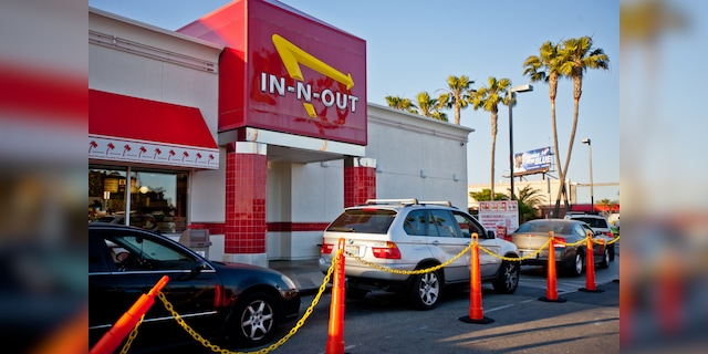 "When the outbreak was first reported to Colorado locations (not pictured), Denny Warnick, vice president of operations at In-N-Out, said the affected staff and those they had been in contact with ""They were excluded from the workplace."""