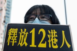 Hong Kong demonstrators arrested at sea are sentenced to prison in China