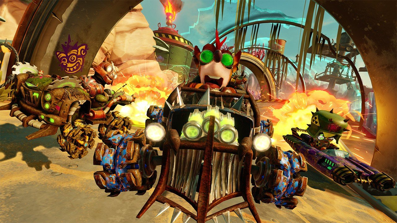 Nintendo Switch members online get a free trial of Crash Team Racing