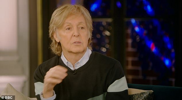 Thoughts: Sir Paul McCartney claimed earlier this month that he was talking to late Beatles star George Harrison because he believed his late friend's soul had inhabited a tree in his home