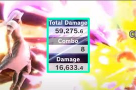 Sephiroth Dishes eliminate over 59,000 damage with one Giga Flare in Super Smash Bros.  Ultimate