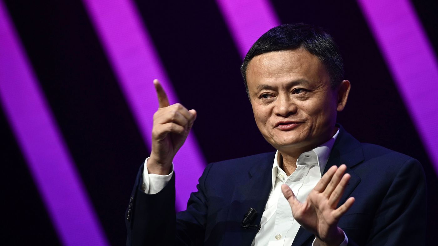 Why Alibaba founder Jack Ma hasn't appeared in public recently: NPR