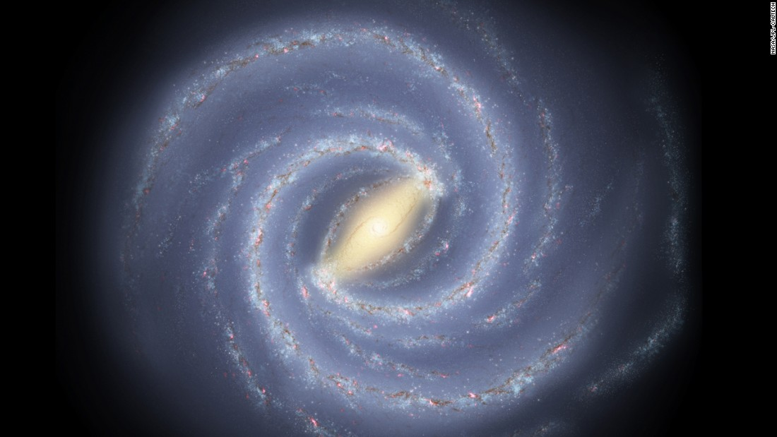 The nearly 500 stars of the Milky Way are actually a family