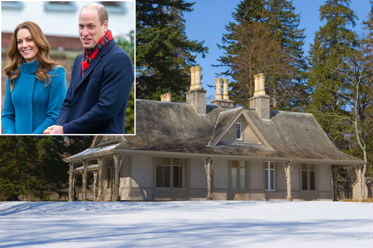 The secret hut of Kate Middleton and Prince William holds happy memories