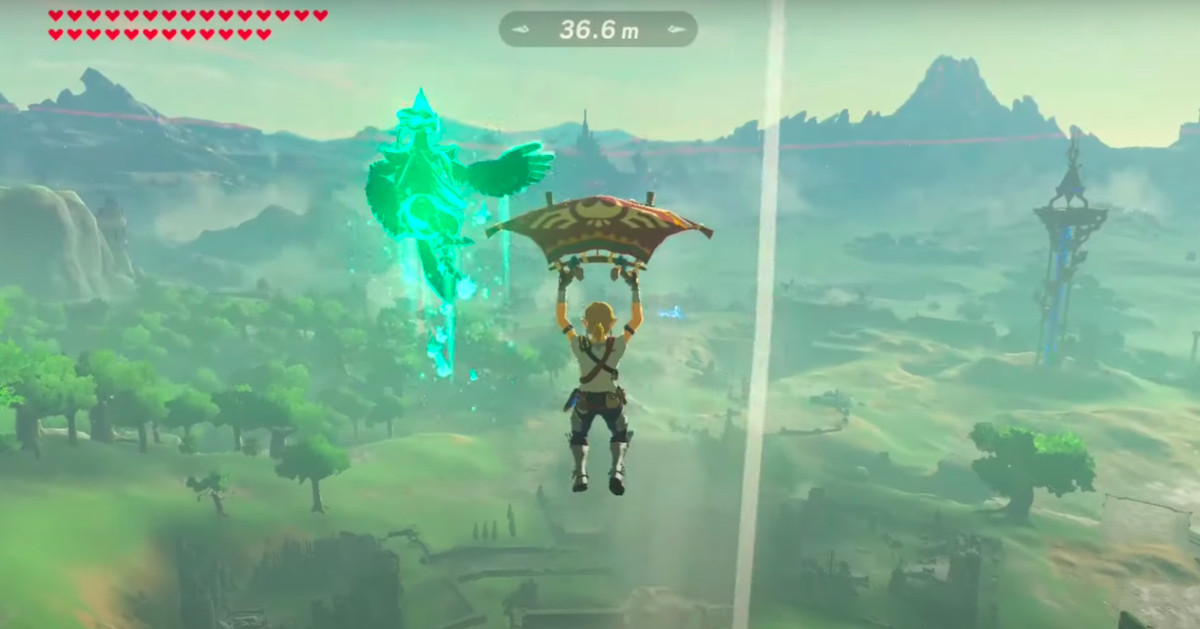 Breath of the Wild's shot defies the laws of physics and understanding
