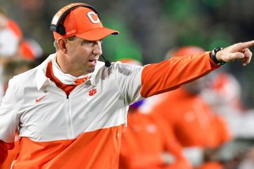 Clemson coach Dabo Sweeney says he has no regrets about Ohio State's ranking at number 11.