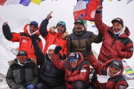 How climbers reached the K2 summit in winter for the first time