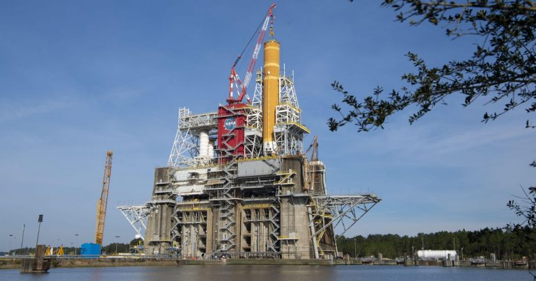 NASA is preparing to launch a massive SLS satellite for another Green Run test