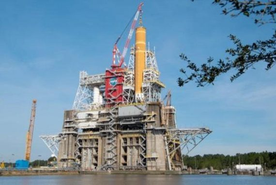 NASA's giant SLS rocket faces a critical test before the moon mission