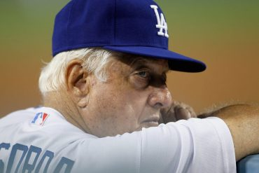 Tommy Lasorda's death begins a conversation about his son