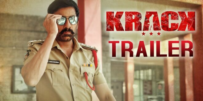 Trailer Krack: Ravi Teja steals thunder